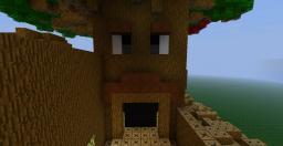 Great Deku Tree + Dodongo Cavern Minecraft Map & Project