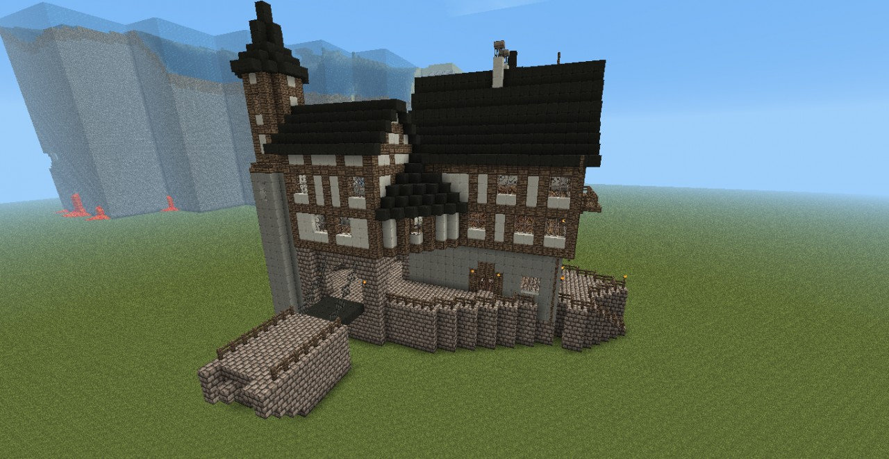 Gutenbach Castle Fortress Minecraft Project
