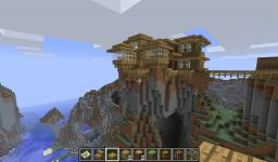 Skymansion on hilltop Minecraft Map & Project