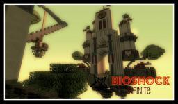 Minecraft Bioshock Infinite Map - Columbia Minecraft Project