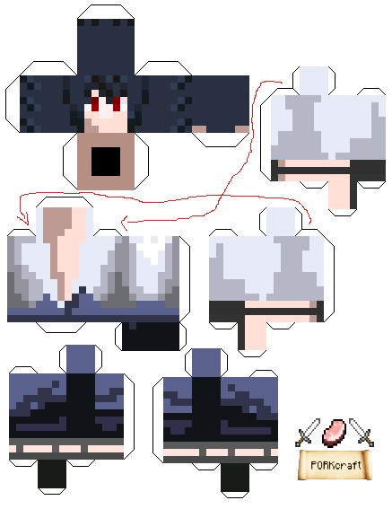 Boosterboy200s Skin Papercraft Minecraft Project