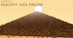 Realistic Ancient Giza Pyramid (Pyramid of Khufu) [WITH DOWNLOAD] Minecraft