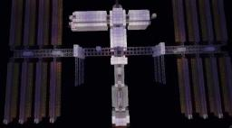 International Space Station 1.5 Minecraft Map & Project