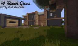 14 Beach Grove Minecraft Map & Project