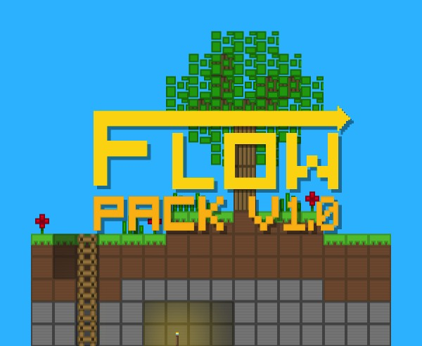 Flow Pack logo made by daBoxah.