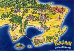 Pokemon Kanto Minecraft Map & Project