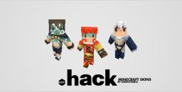 Minecraft Skins from [.hack//] - Orca, Kite, Balmung Minecraft