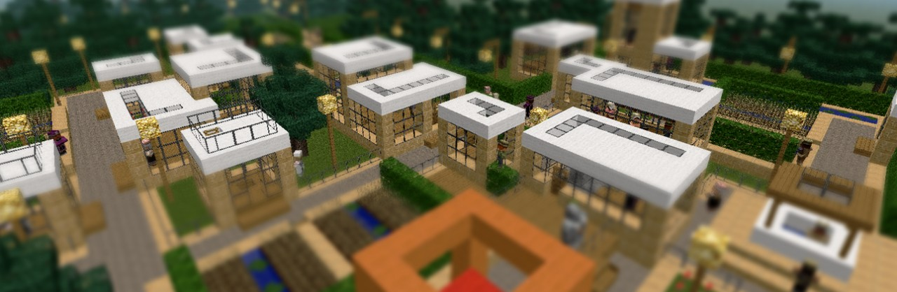 NPC Village Modern Revamp Minecraft Project