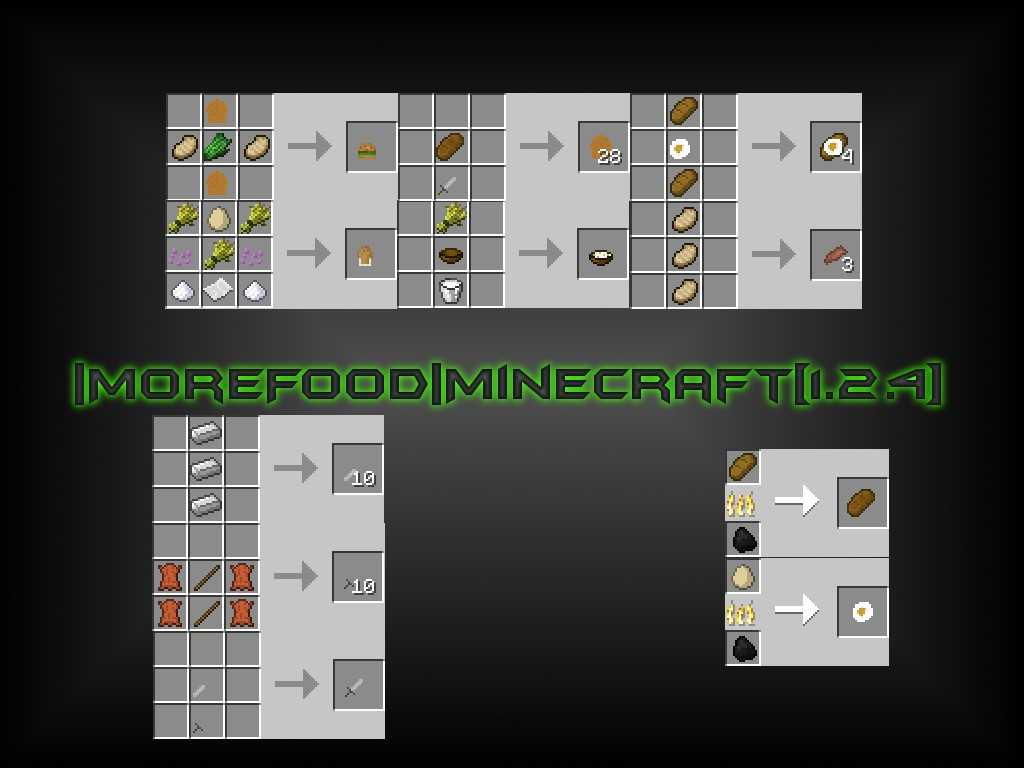 how to get more foods mod