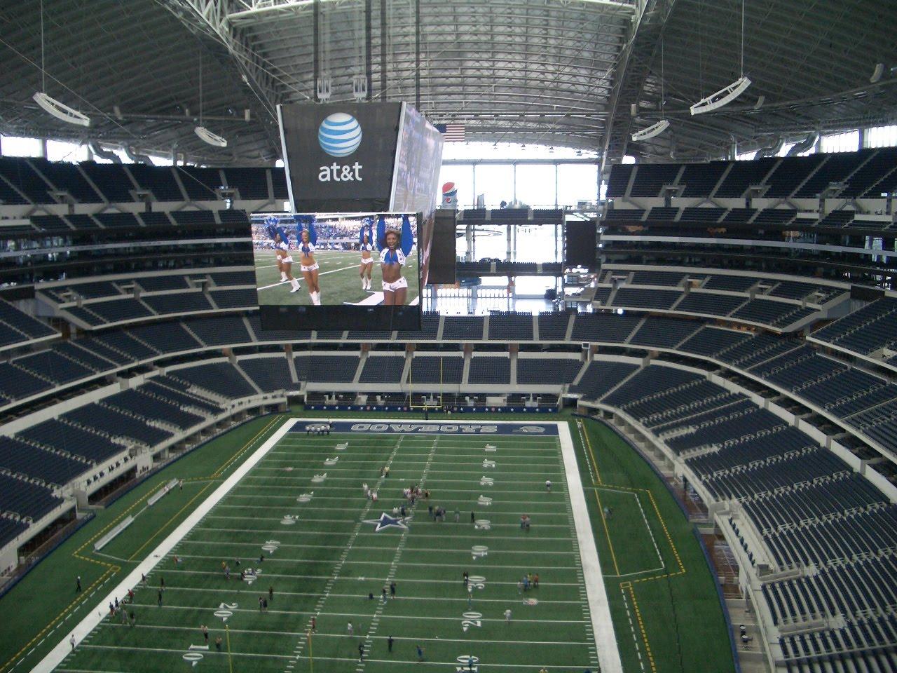 Cowboys Stadium In Sport City Minecraft Project