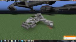 Star Trek Bajoran sub-impulse raider/small Maquis raider (zeppelin mod compatible) Minecraft Map & Project