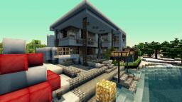 The 6 season Modern house(Updated) Minecraft Map & Project
