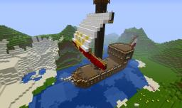 Polish Pirate Ship :D Minecraft Project