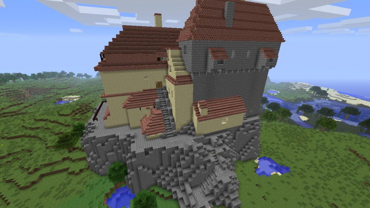 Bran Castle Dracula #39 s castle Minecraft Project