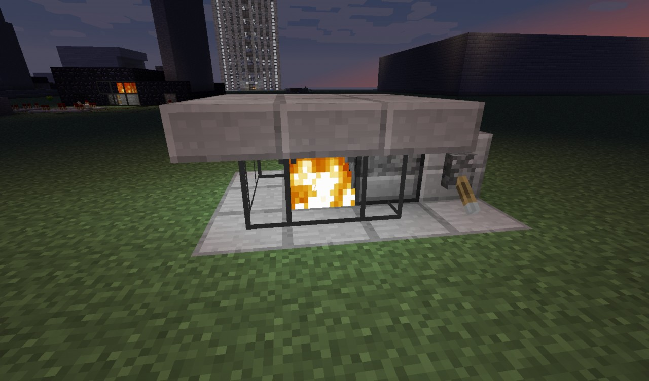 28 redstone fireplace minecraft how to make a working