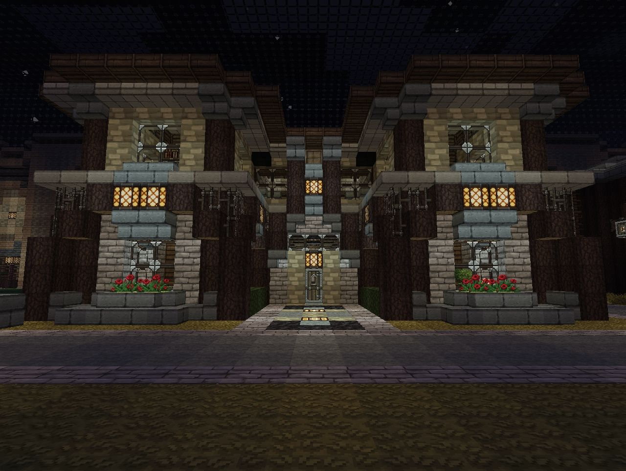 Minecraft Bedroom 4 Bedroom House With Arch Disign Minecraft Project