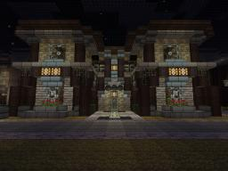4 Bedroom house with arch disign Minecraft Map & Project