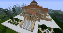 Villa Rotonda Minecraft Map & Project