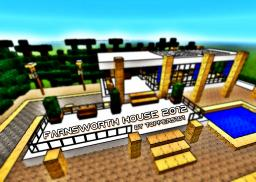 The Farnsworth House 2012 Minecraft Map & Project