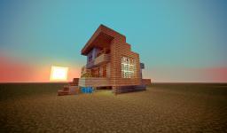 CONTEMPORARY HOME DESIGN V1. Minecraft