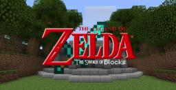 The Legend of Zelda The Sword of blocks Minecraft Map & Project