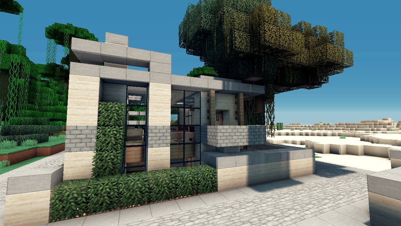 house lets build lot size 12x12 beach town project minecraft project