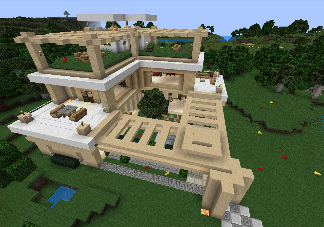 The Green House Minecraft Project
