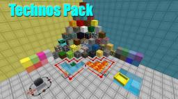 Technos Pack: A 16x16 Futuristic Texture Pack Minecraft Texture Pack