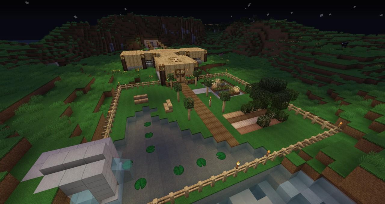 GlowStone Manor Garden view