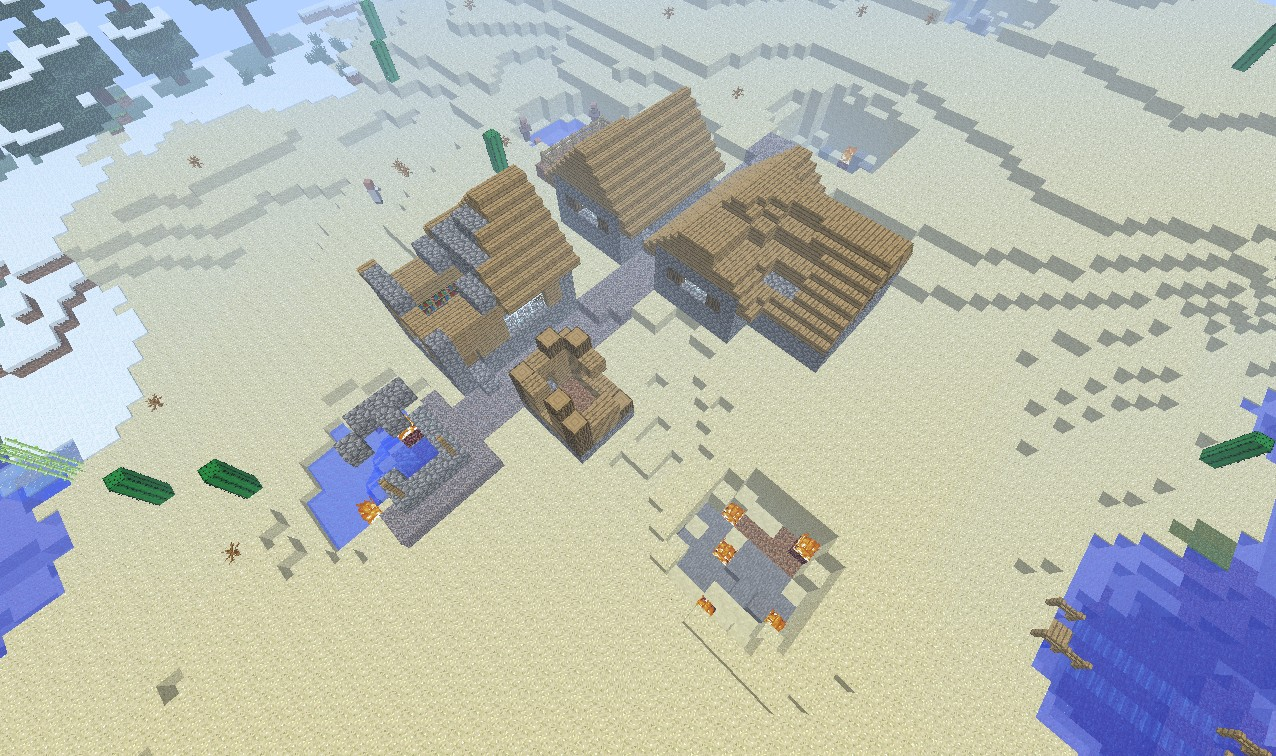The first quest Minecraft Map
