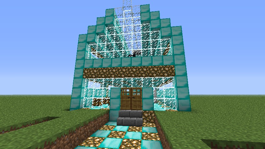 Diamond House Minecraft Project
