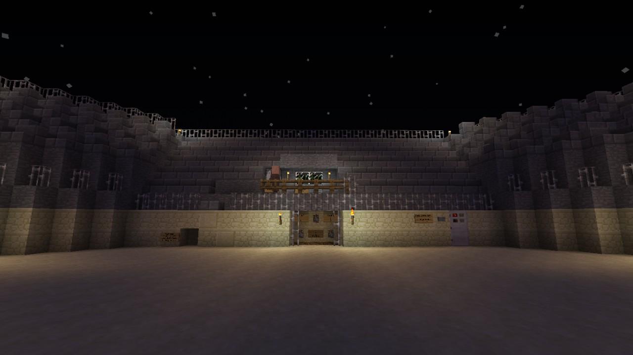 Gladiator Arena Minecraft Project