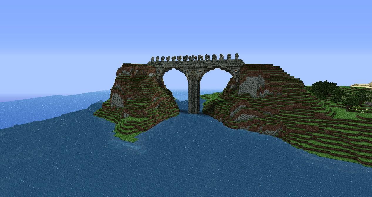 картинки майнкрафт красивые мосты #9