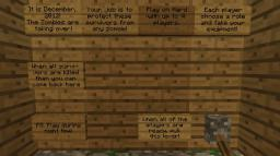 2012 Zombie Survival Game Minecraft Map & Project
