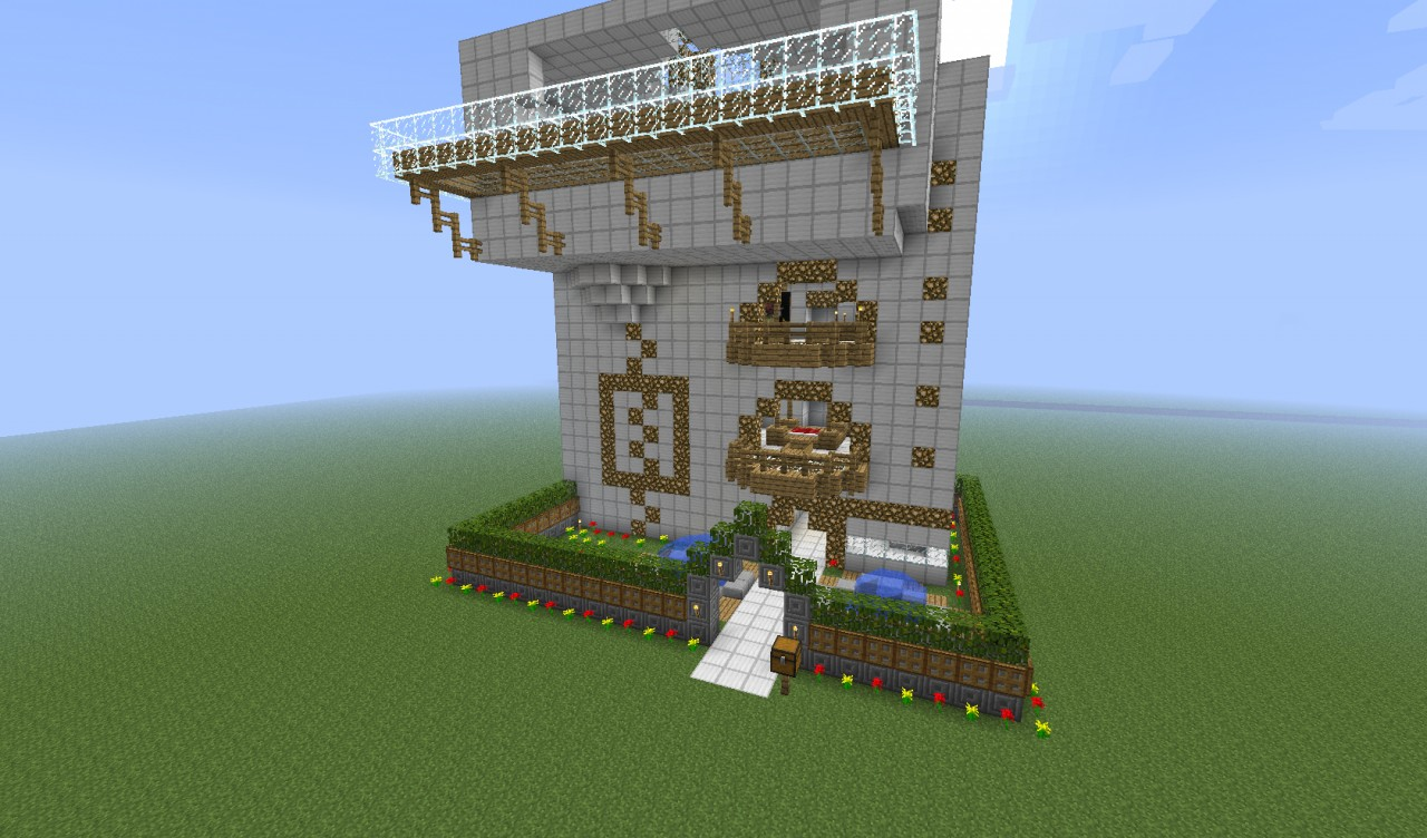 Redstone Elevator Minecraft Project