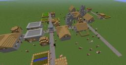 Over-Populated NPC Village Minecraft Blog