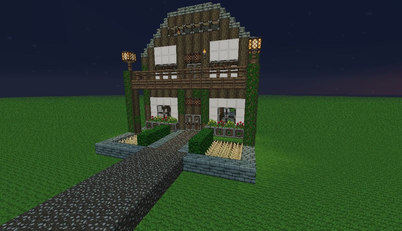 Medieval Manor House Minecraft Project