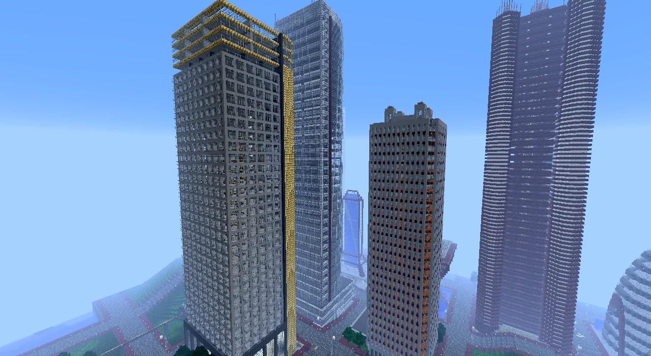 Skyscraper Bundle 32 Structures Minecraft Project