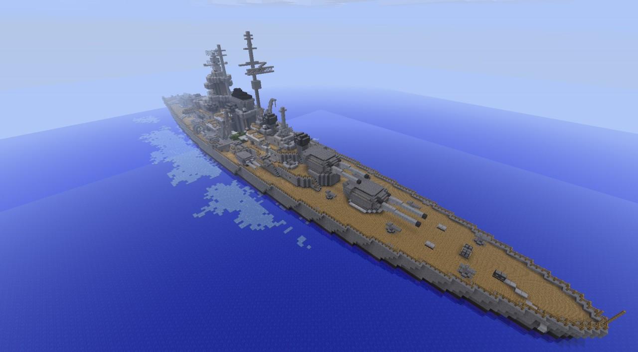 Battleship Dkm Tirpitz Minecraft Project