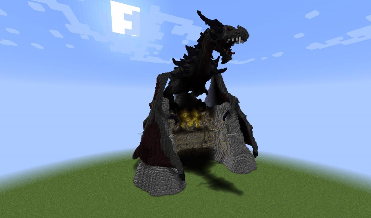 Alduin -Dragon from Skyrim in Minecraft Minecraft Project