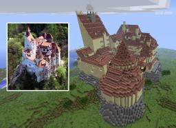 Bran Castle, Dracula's castle Minecraft