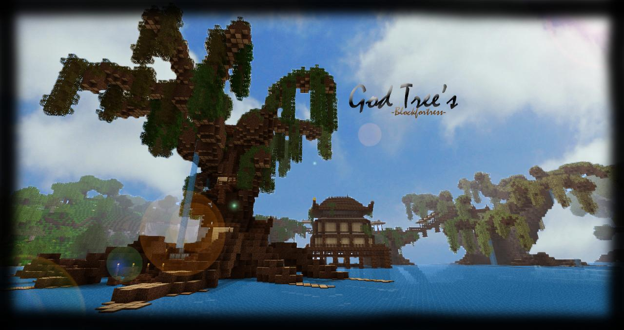 God Trees Collection (Download pack) Minecraft Project