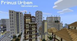 Primus Urbem. Minecraft