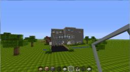 Green Fields Mansion. Minecraft Project