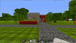 Small But Modern With Village. Minecraft Project