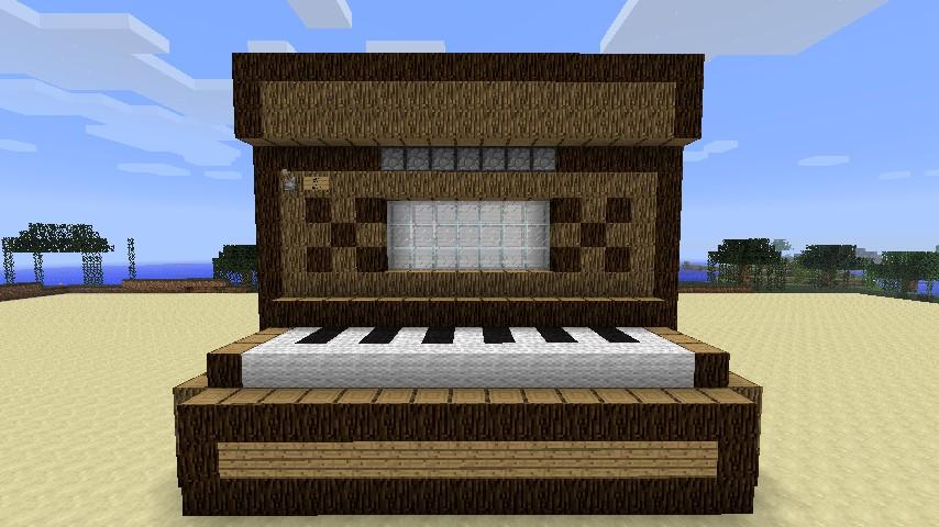 Piano Minecraft Build