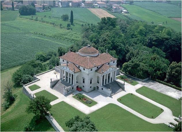 Villa Rotonda Minecraft Project