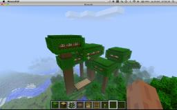 tree house. Minecraft Map & Project