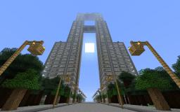 Modern double skyscraper Minecraft Map & Project