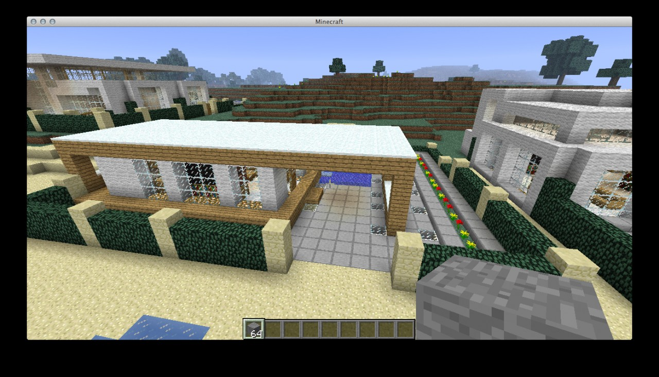 Hot house designs minecraft project for Hot house plans